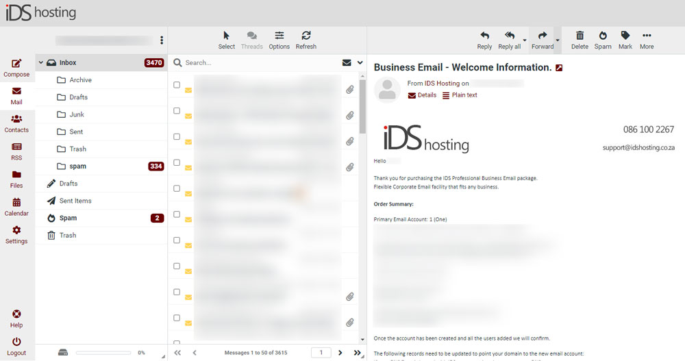 Branded Email Webmail